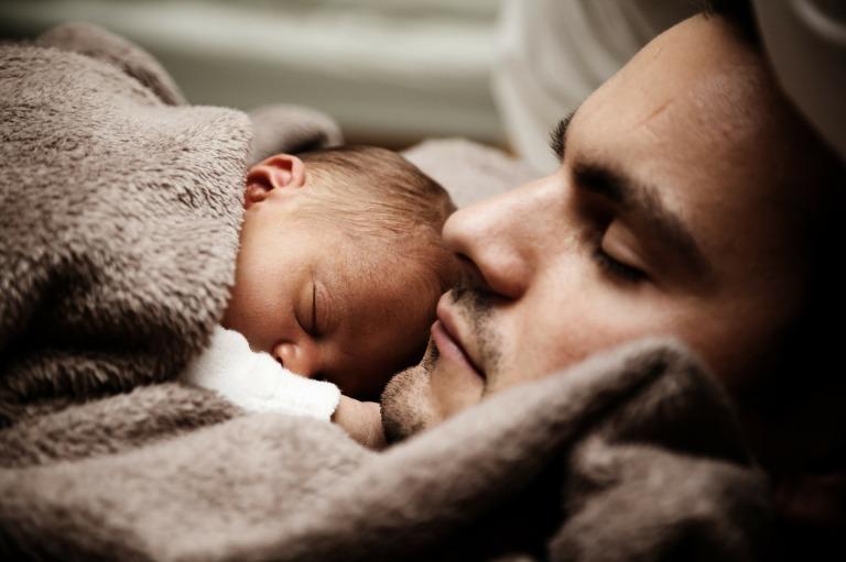 dormir-enfant-famille